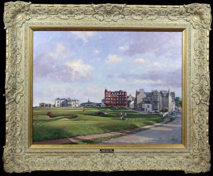 Donald Shearer The Road Hole Oils 23x30 | Scottish Contemporary Art