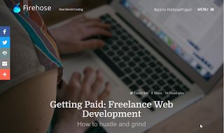 Getting Paid: Freelance Web Development How to hustle and grind
