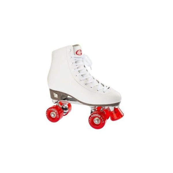 Rookie Classic Adult Roller Skates White ($110) ❤ liked on Polyvore featuring shoes
