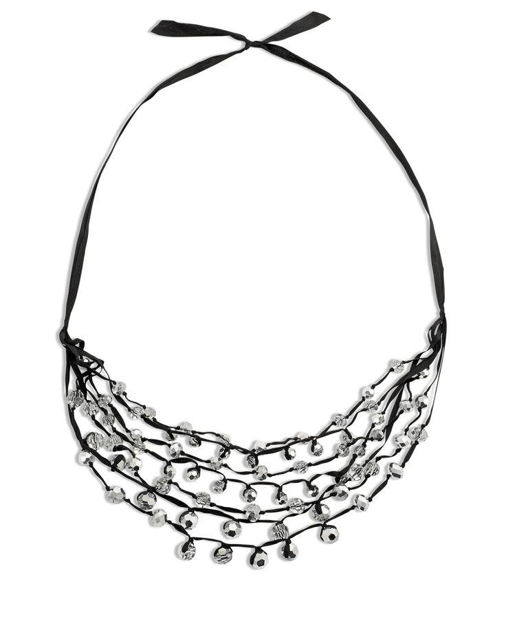 13 best Ladder ribbon yarn necklace images on Pinterest