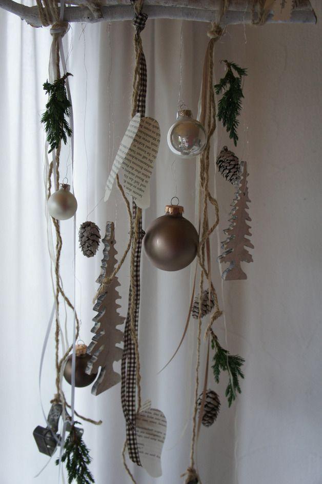 """Fensterschmuck - Fensterdeko """" Zauberwald...."""" - ein Designerstück von Hoimeliges bei DaWanda"""