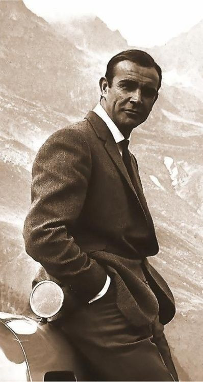 Sean Connery. Oh, my. I still think he's the sexiest James Bond ever.