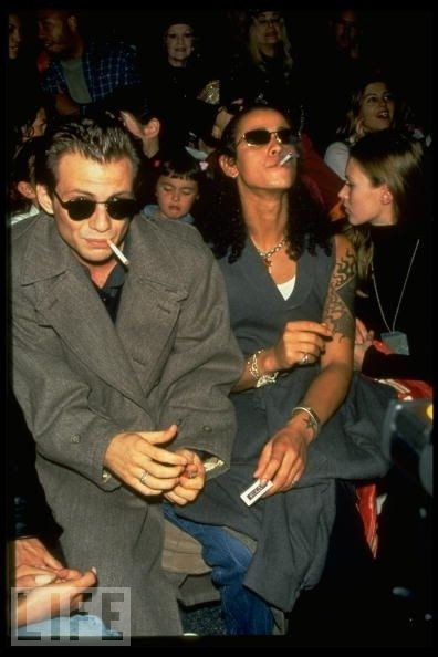 Jaye Davidson and Christian Slater.