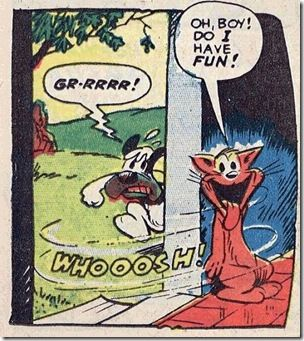 """a lively Dan Gordon """"Puss and Boots"""" panel...!"""