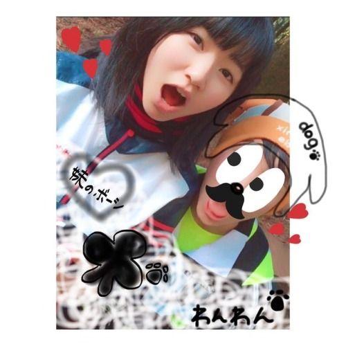 ちなみに妹の帽子は犬 戌年だからではなく 小さい時からずっとこれ笑笑  #山登り #帽子... #Team8 #AKB48 #Instagram #InstaUpdate