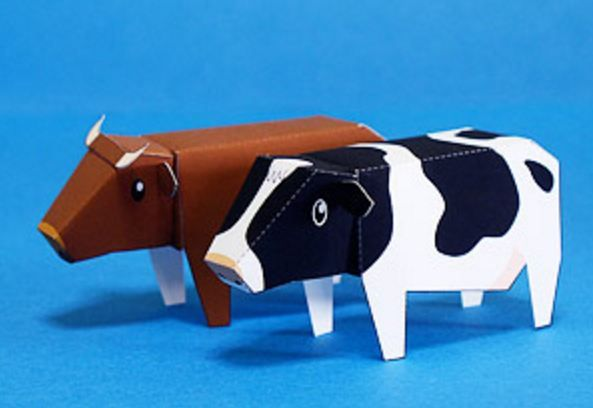 Did you know that cow is one of the Chinese Zodiac characters ? Cow gives us milk and meat, from