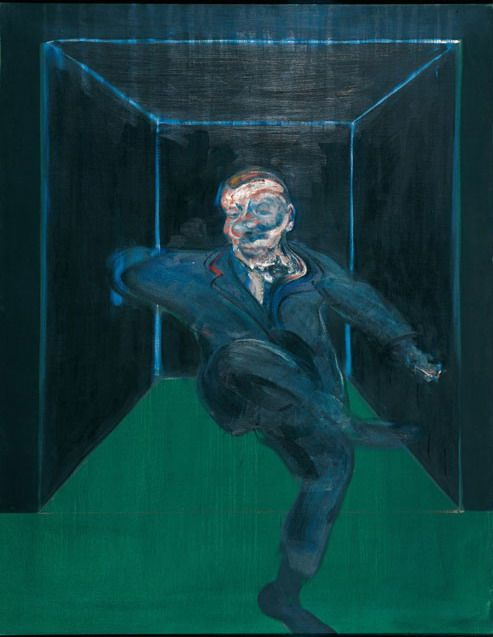 Francis Bacon, Seated Figure,1960.