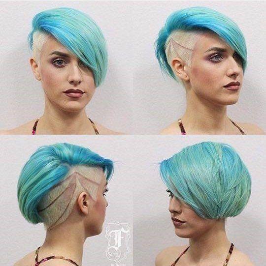 11+lässige+Kurzhaarfrisuren+in+mehreren+Farben.+Welche+Frisur+würdest+Du+wählen?