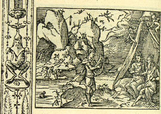 Orphée aux Enfers (Métamorphose Lyon 1557) - Bernard Salomon