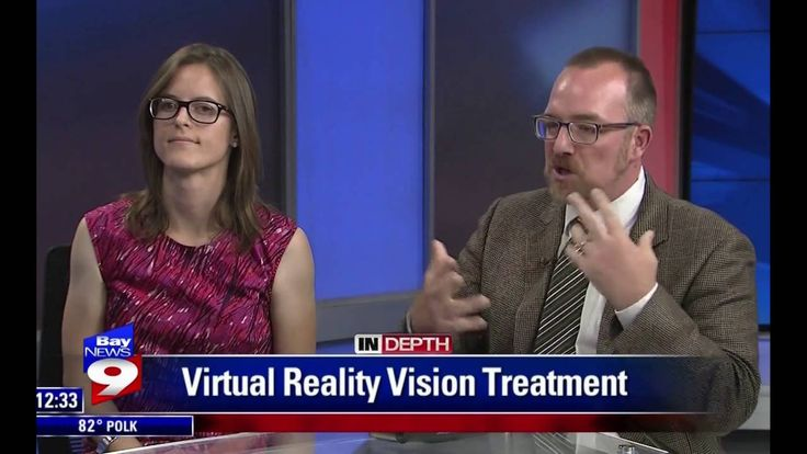 Dr.  Nate & Betsy on Bay News 9 Talking About Vivid Vision #amblyopia #strabismus