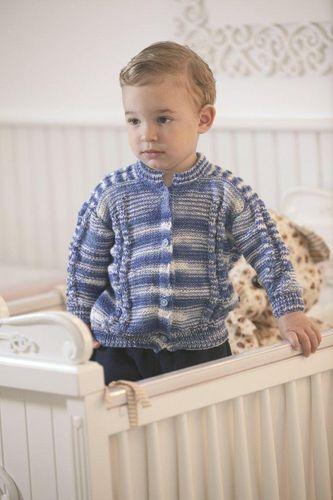 Casaco Infantil Azul Mesclado - taglia 18 mesi