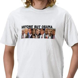 GOP Nine - 2012 Republican Primary Election Tshirt