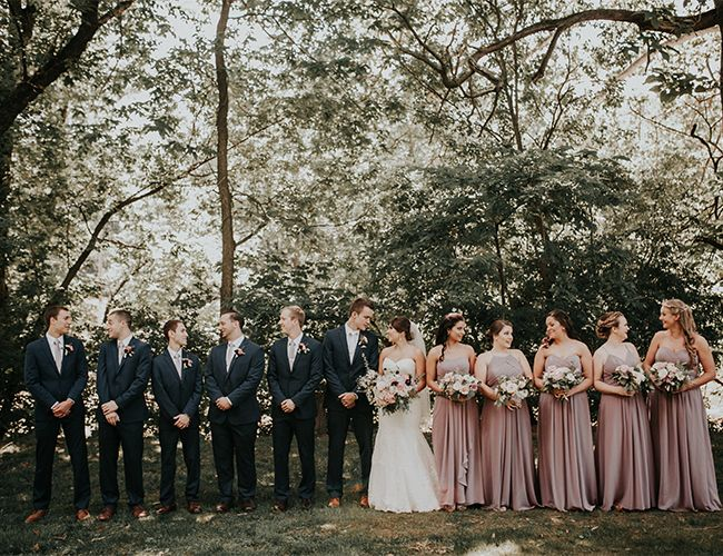 Moody Mauve Wedding with Copper Details - Inspired By This