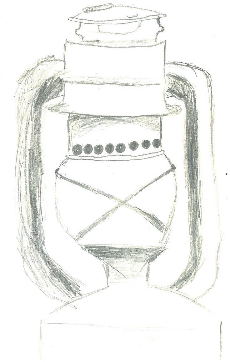 Page 4: Drawing of lantern