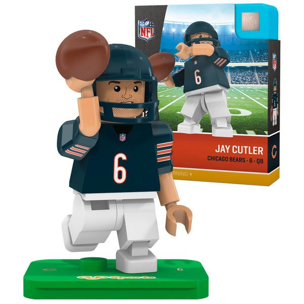 Jay Cutler Chicago Bears OYO Sports Generation 5 Player Minifigure - $12.99
