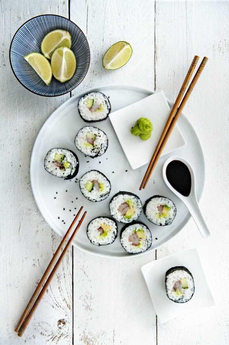 Matjes Sushi - eine wunderbare Vorspeise besonders in der Matjes Zeit