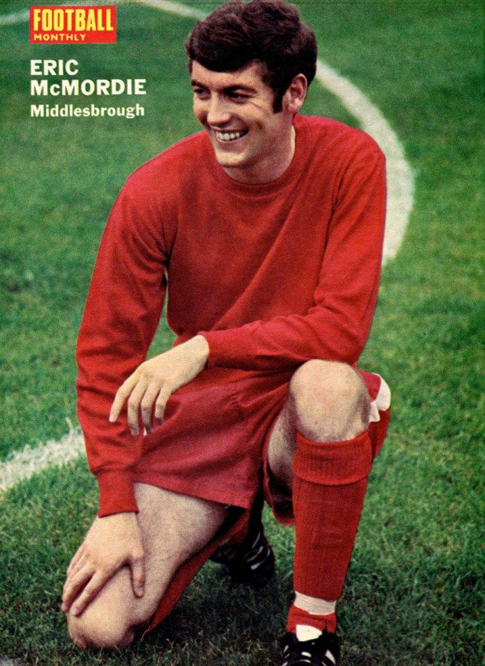 Eric McMordie Middlesbrough 1970