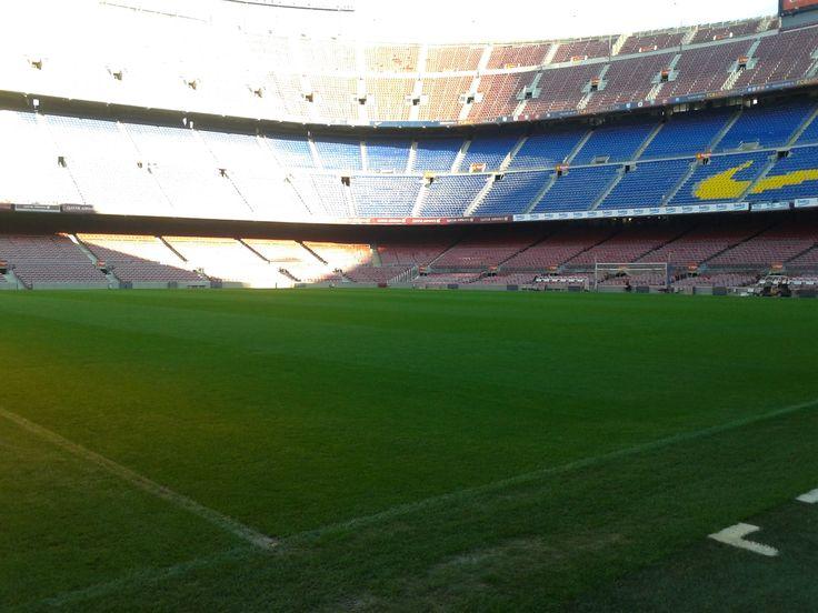 Gramado Camp Nou - Barcelona - Espanha