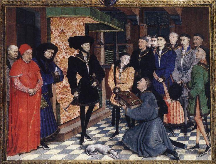 1448 Rogier van der Weyden Chroniques de Hainaut