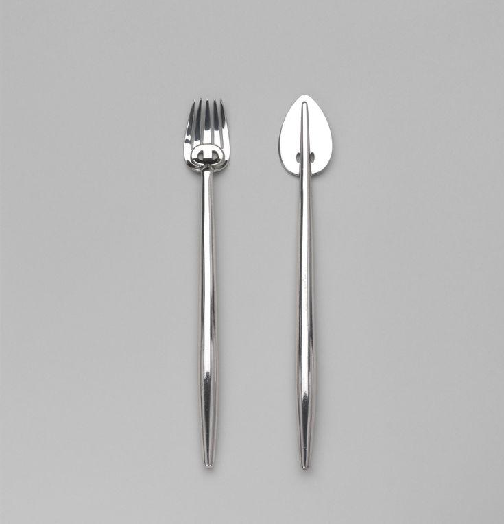 Charles Rennie Mackintosh. Fish Knife and Fork. c. 1900