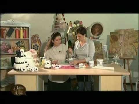 MANI DI LARA - Cake design Fiore Anemone con Francesca Ghidini - YouTube
