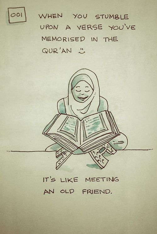 haha yes!- that's how I came to Islam- EXACTLY this experience!