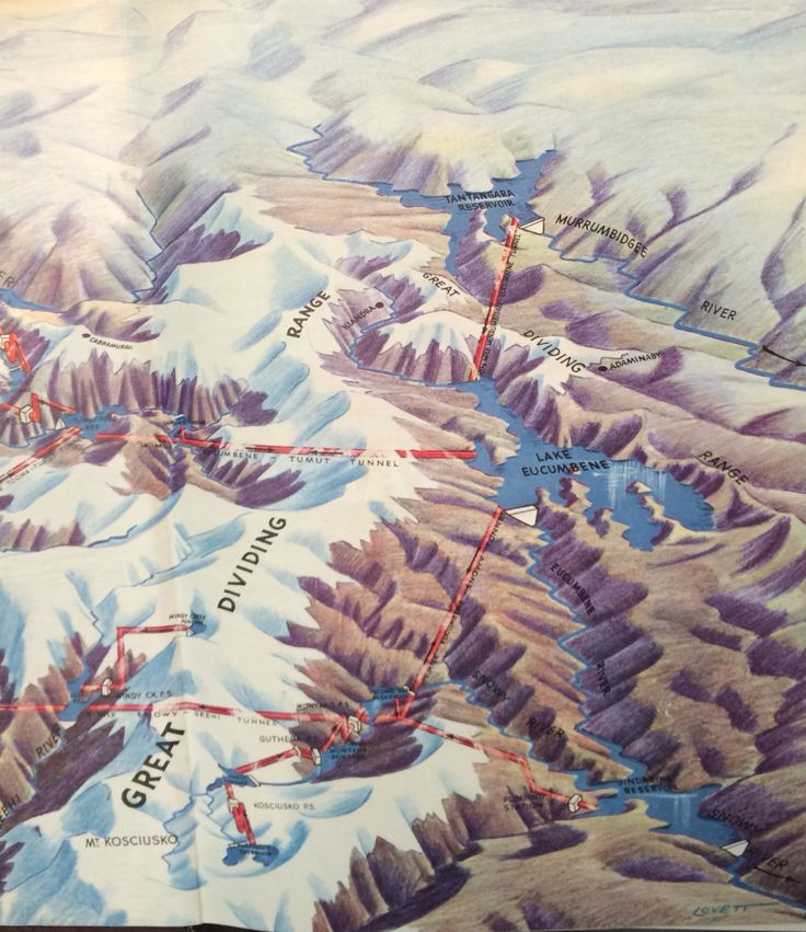 """From """"The Snowy Mountains Story"""" 1961."""