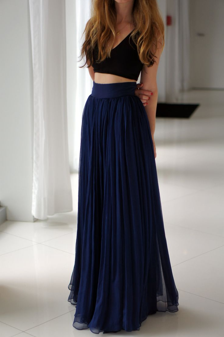 154 best Maxi Skirts images on Pinterest | Long skirts, Maxi ...