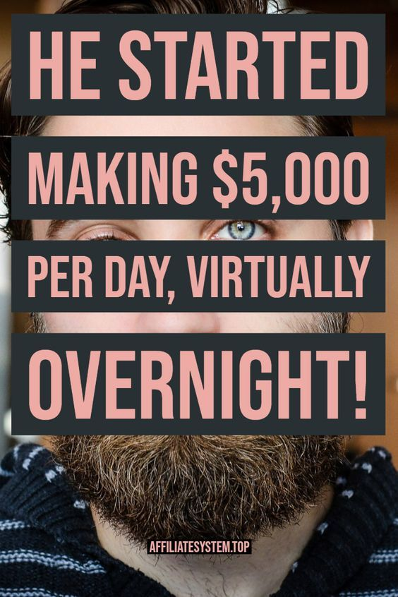 He started making $5,000 per day, virtually overnight! – Grace Balcazar
