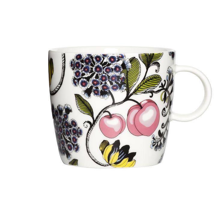 Persikka Muru mug by Tanja Orsjoki