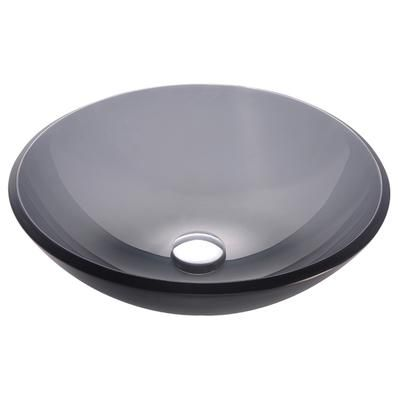 Kraus Sinks Canada : KRAUS - Frosted Black Glass Vessel Sink - GV-104FR - Home Depot Canada ...