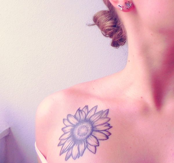 where to buy north face jackets  Inspirational Sunflower Tattoos Cuded