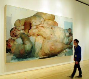 Nostalgic Skin: Representations: Jenny Saville the fleshy female