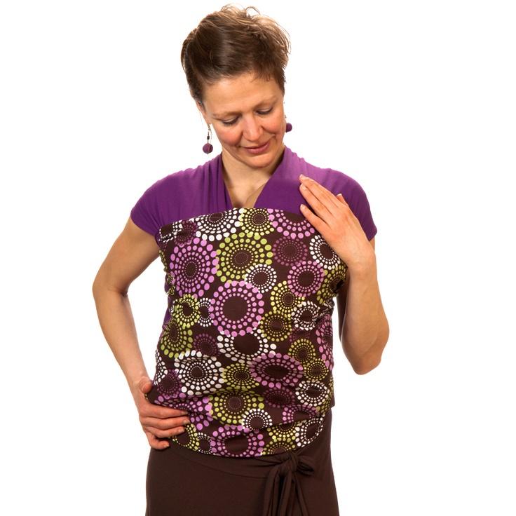 Liliputi® Strechy Wrap - Rainbow line - Lavendering Babywearing & More! #liliputi #babycarrier #babywearing #wrap