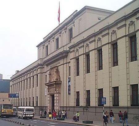 Biblioteca Nacional del Perú - sede Av. Abancay (Lima)