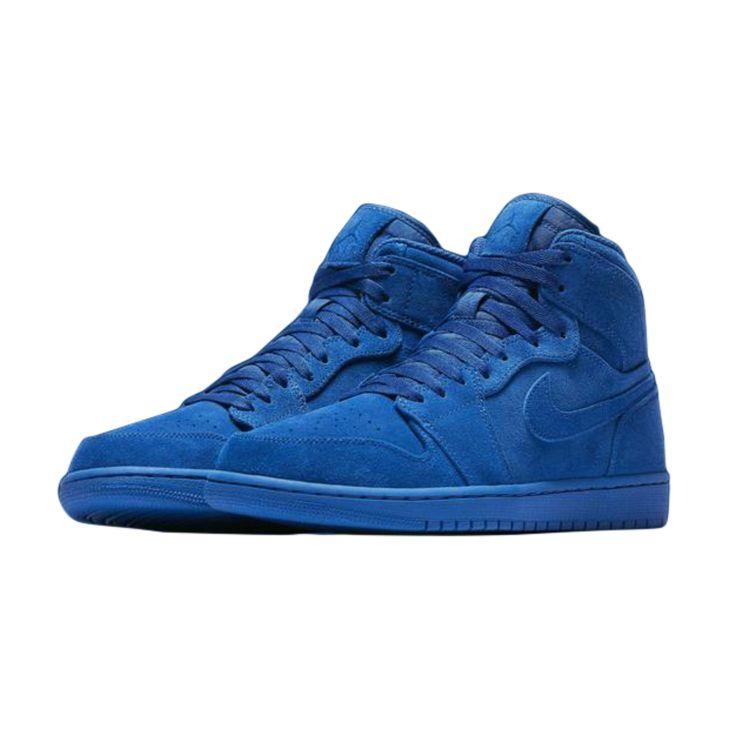 big sale 98adc 543c8 ... Nike sneaker wedges  AIR JORDAN 1 RETRO HIGH SHOE - ROYALROYAL (GRADE  SCHOOL) ...