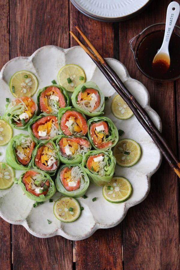 いつものサラダが変身お弁当おもてなしにもおすすめロールサラダレシピ集
