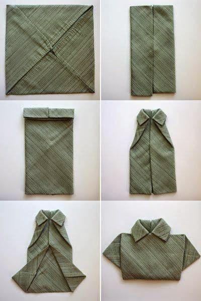 paso a paso doblado de servilletas
