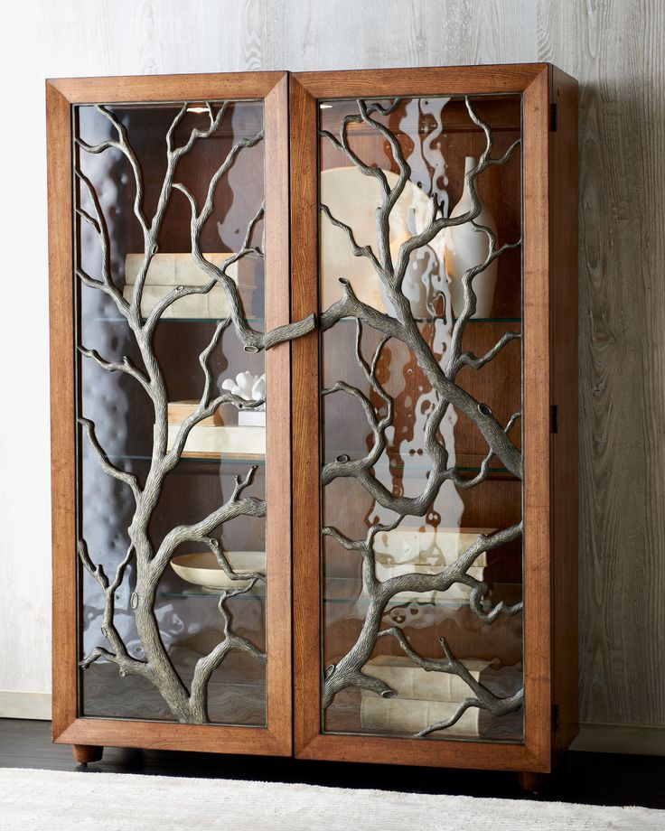 Tree Branch Display Cabinet Horchow Furniture I Love Pinterest Trees Branches And