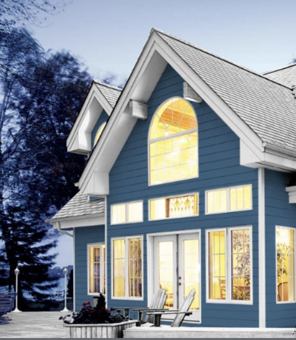 Color Of The Year 2020 Chinese Porcelain Blue By Ppg Paints House Paint Exterior House Painting Modern Farmhouse Exterior