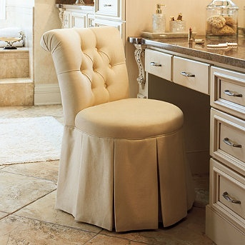 43 best images about vanities on pinterest see more for Master bathroom ottoman