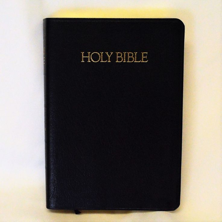 Nelson Holy Bible King James Version Giant Print Reference Red Letter Leather