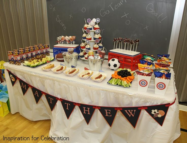 Image Detail For Here Is Another Cute Boy Party An All American Sports Christina