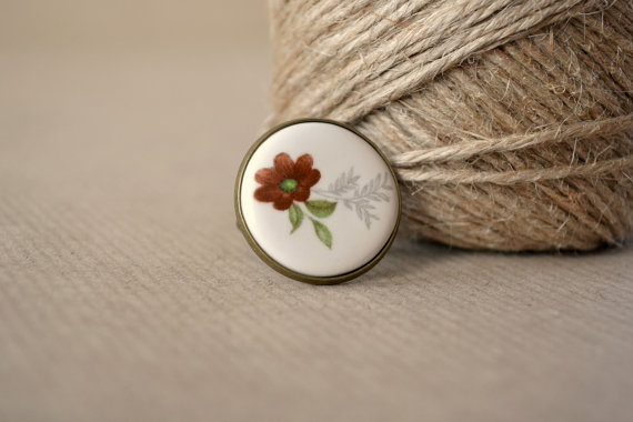 Autumn leaves  Ring: Leaf Ring