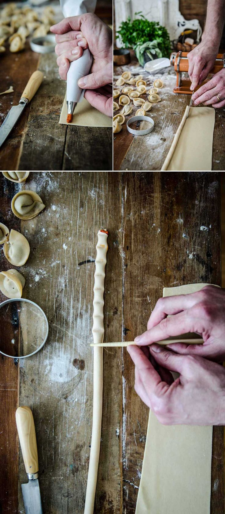 Bambu - How to make Filled Pasta | Chew Town Food Blog