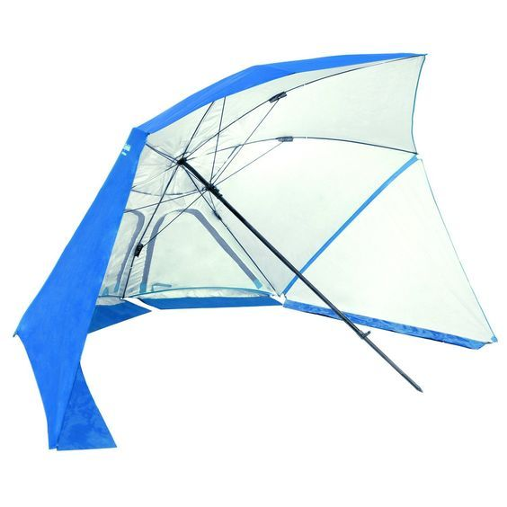 EasyGo BrellaTM -The Ultimate 2 in 1 Umbrella Shelter - Works as a Sport or Beach Canopy Tent - Opens in 5 Seconds!!! 100% Satisfaction Guaranteed ** More info could be found at the image url.