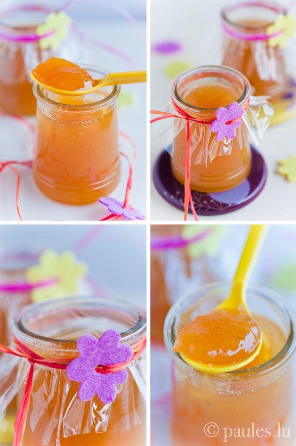 Orangen-Mandarinen Marmelade mit Sternanis, Vanille und Whisky.