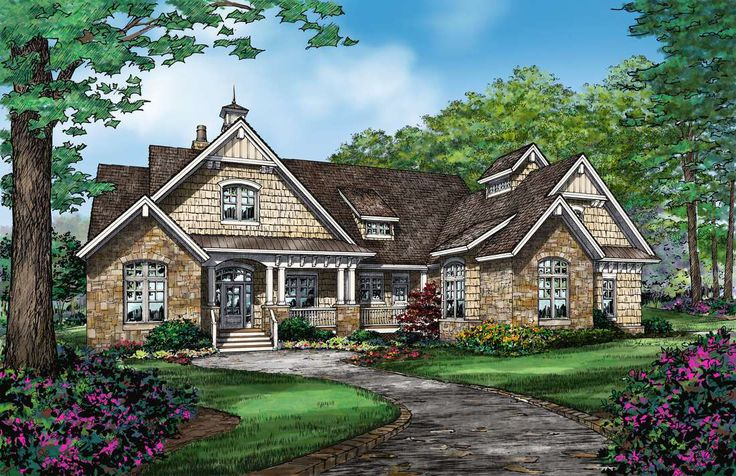 The austin house plan new house ideas pinterest for Retirement house plans