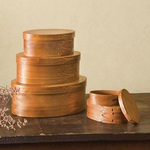 Shaker lidded boxes have a traditional charm, simplicity, and utility rarely seen in other storage systems.