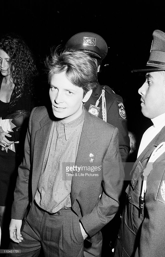 Maxims boat party Arnold Schwarzenneger party Michael J. Fox Larry, Daryl, Daryl Andre Weinfeld party Lee Iacocca 'Princess party' Joseph Kennedy Jr, David Brenner- Robert PalmerMichael J. Fox 1986